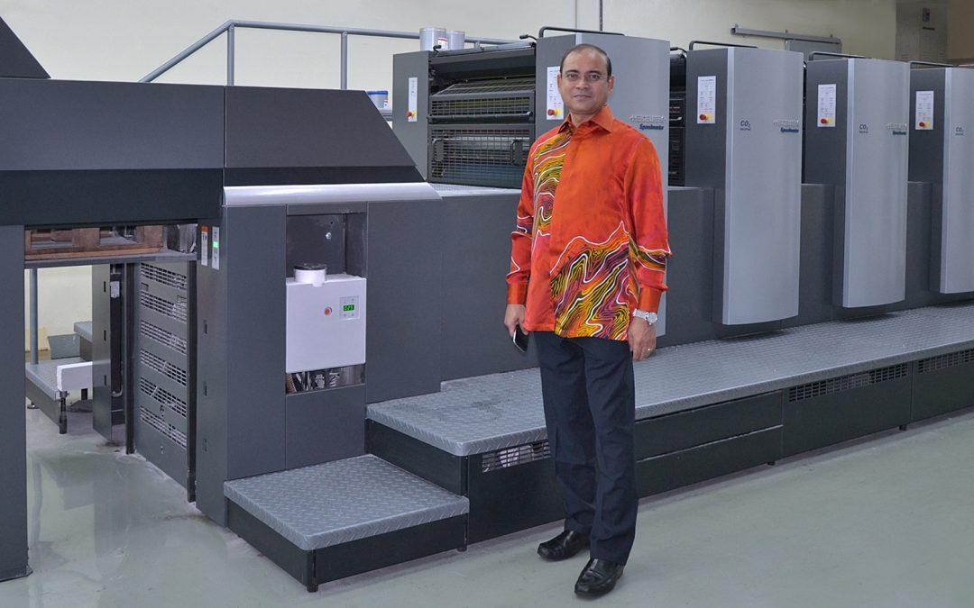 Impressora Offset Speedmaster SM 74-4-H