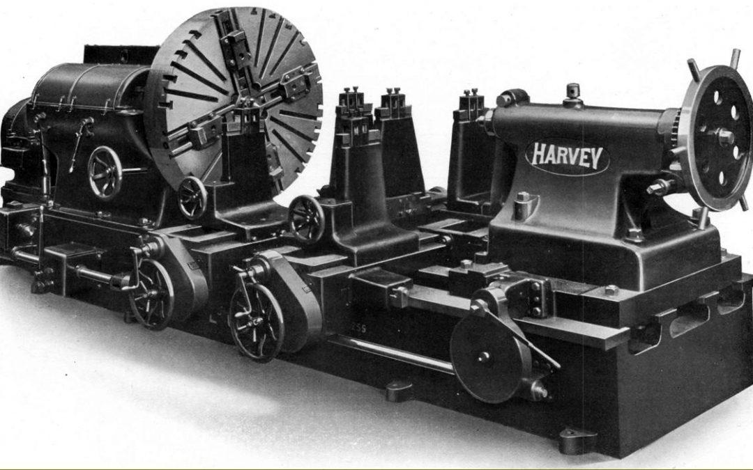 História das Máquinas Operatrizes