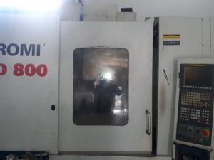 Centro de usinagem Romi D 800 - ano 2008 - CNC Fanuc