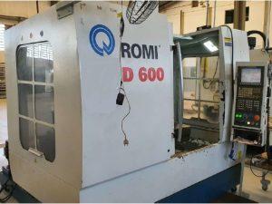 Centro de usinagem Romi D600