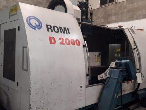 Centro de Usinagem Romi D2000