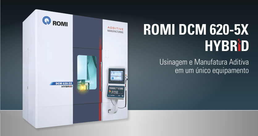 CENTRO DE USINAGEM ROMI DCM 620-5X HYBRID